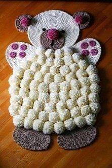 Zobacz zdjęcie cudny dywanik robiony ręcznie
