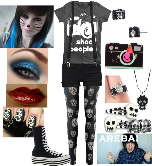 """""""I Shoot People!~"""" by toxickittystudios on Polyvore"""