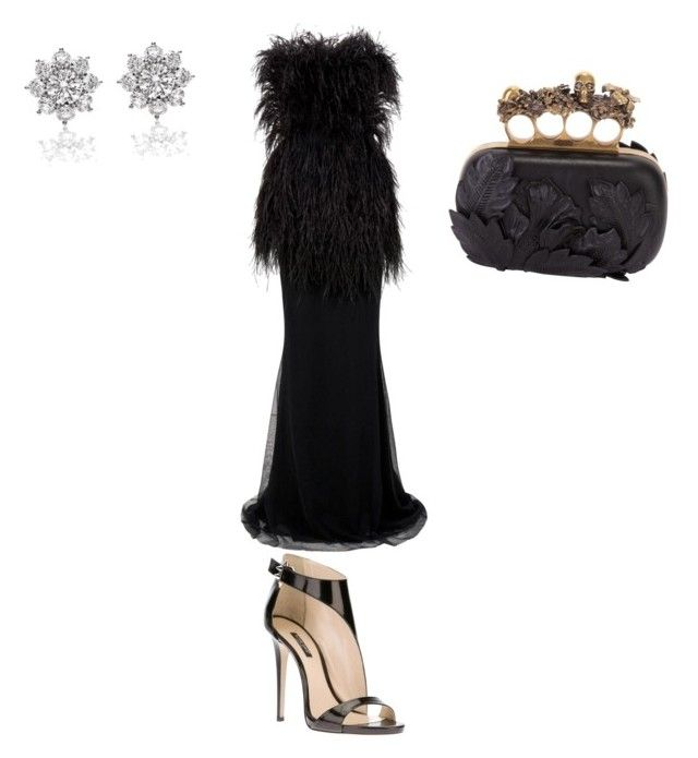 """Untitled #577"" by ioan-jeni on Polyvore featuring Jason Wu, Ruthie Davis and Harry Winston"