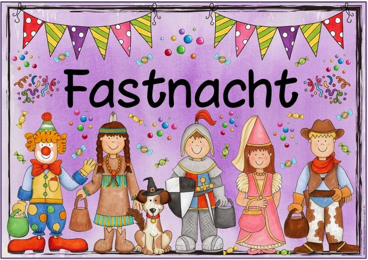 """Plakat """"Fastnacht""""   Gestern kam die Frage auf, ob ich das Themenplakat von gestern nicht auch mit dem Schriftzug """"Fastnacht"""" anbieten könn..."""