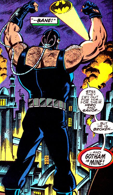 Gotham Belongs To Bane (Batman #498, August 1993) - Art by Jim Aparo & Rick Burchett, Words by Doug Moench