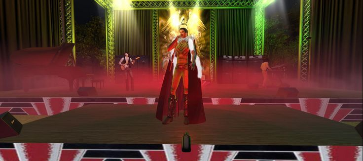 https://flic.kr/s/aHsm6KbQjF | London inSL - Queen Concert in October | Tribute to Queen by TDDI in London's Hyde Park. These magnificent artists gave there all at a concert in a lifetime. Thank you TDDI for bringing Queen back to us and Freddy Mercury back to life.