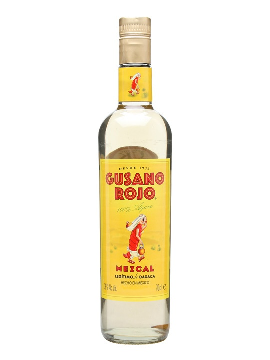 Gusano Rojo Mezcal : Buy Online - The Whisky Exchange - Gusano Rojo Mezcal is one of the most popular mezcals in Mexico, and is made with 100% agave. Named Gusano Rojo (red worm) after the worm that is sometimes found on the Agave plants used for the pr...