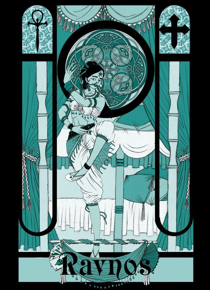 Vampire The Masquerade - Ravnos by Axel-TW