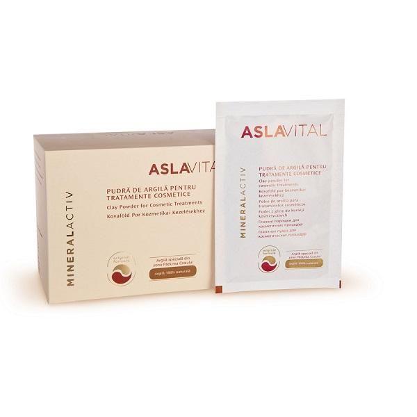 ASLAVITAL-cutii cu pudra de argila (plicuri) - http://www.carlisa.ro/274~Produse-Cosmetice-Anti-Rid/1513-ASLAVITAL-cutii-cu-pudra-de-argila--plicuri-.html