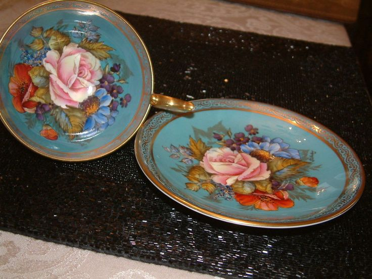 Hand Painted China Tea Cups