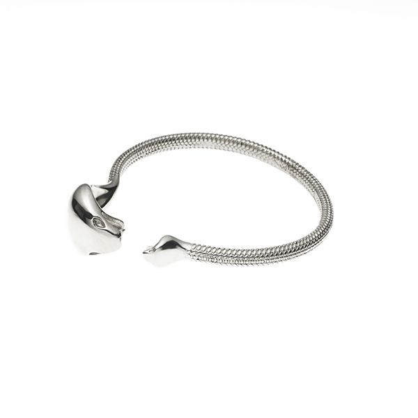 PUSHMATAaHA // Mother Serpent Bangle / Sterling Silver