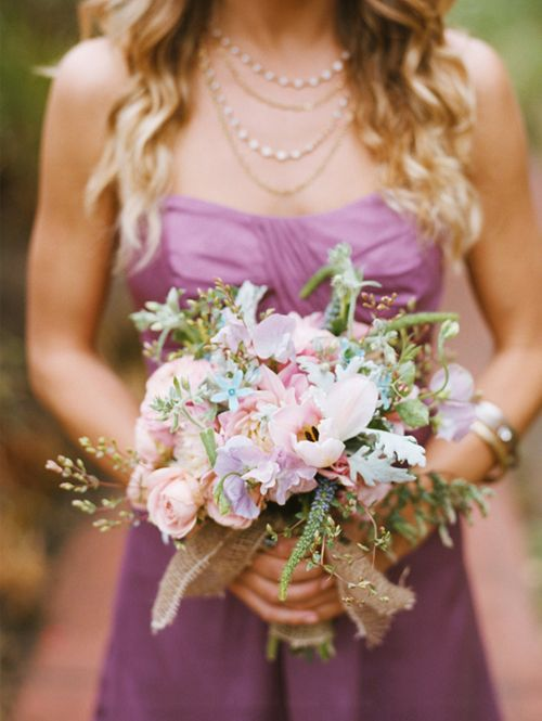soft paletteBridal Bouquets, Purple Bridesmaid Dresses, Wedding Bouquets, Flower Bouquets, Colors Palettes, Blue Flower, Purple Bouquets, Bridesmaid Bouquets, Purple Palettes