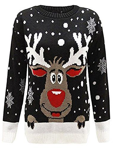 Product review for Zoomex_XMAS_JUMPER Kids Xmas Rudolph Jumper Childer Christmas Knitted Pullover Sweater.  New Kids Childrens Boys Girls Xmas Christmas Winter Jumper Sweater Knitted Retro These high quality beautiful Christmas Jumpers including Star Wars Minion Snowman Reindeer Fithy Animal are available in some amazing Colours and sizes ranging from 2/3 to 11/12. These unique Style jumpers are...