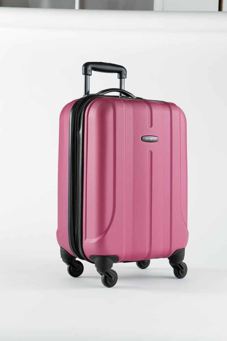 best luggage images on pinterest  vera bradley luggage  - samsonite® fiero hard side luggage collection  purple is a great choicefor the modern