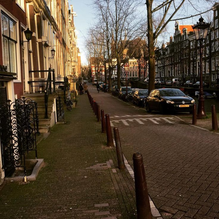 I enjoy every moment as I enjoy every picture. — Amsterdam's street.   #goodday #enjoy #stroll...