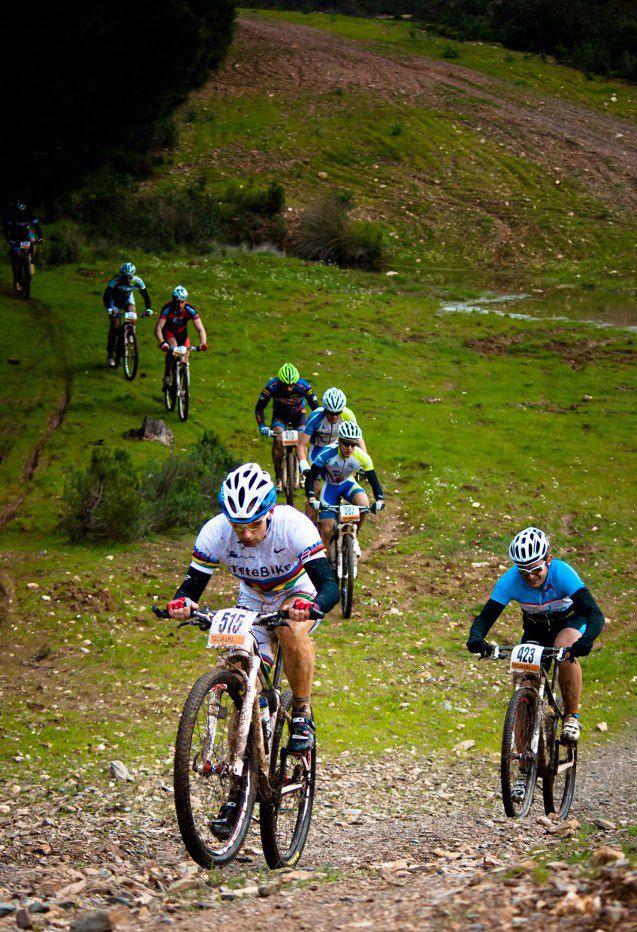 Rider Jose Antonio Cosano Riding Bike Empire 29er Tetebike Spain