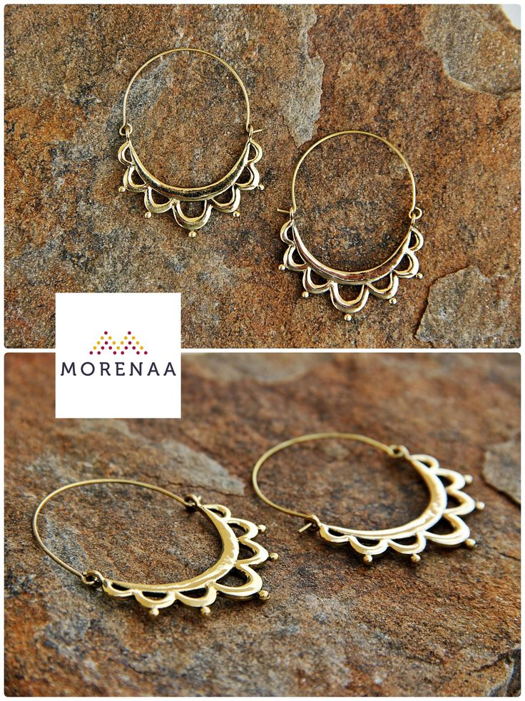 Boho ✤ Chic Aros Hechos en India $5.990 #aros #earrings #bohemianstyle #morenaa #lomejordecadalugar ✤✤✤✤✤✤✤✤