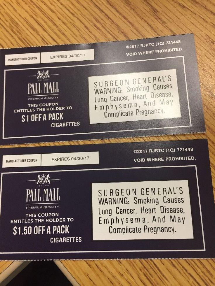 Pall mall coupons 2019