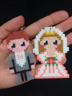 Wedding perler beads