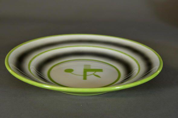Auksjonshallen: Signed plate by Nora Gulbrandsen for Porsgrund Porselen