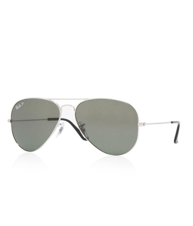 Ray-Ban RB3025 003/58 Polarized Medium Size 58 Aviator Sunglasses