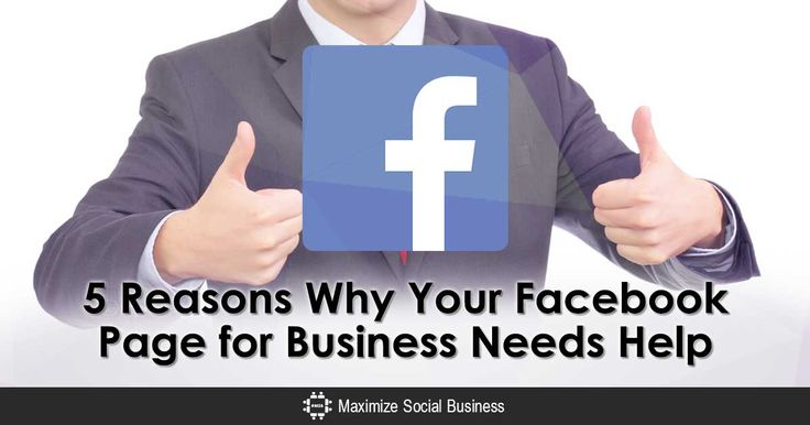 Your Facebook Page for business needs more help than you think. Here's 5 reasons - with solutions - on how you can improve your Facebook Page marketing.