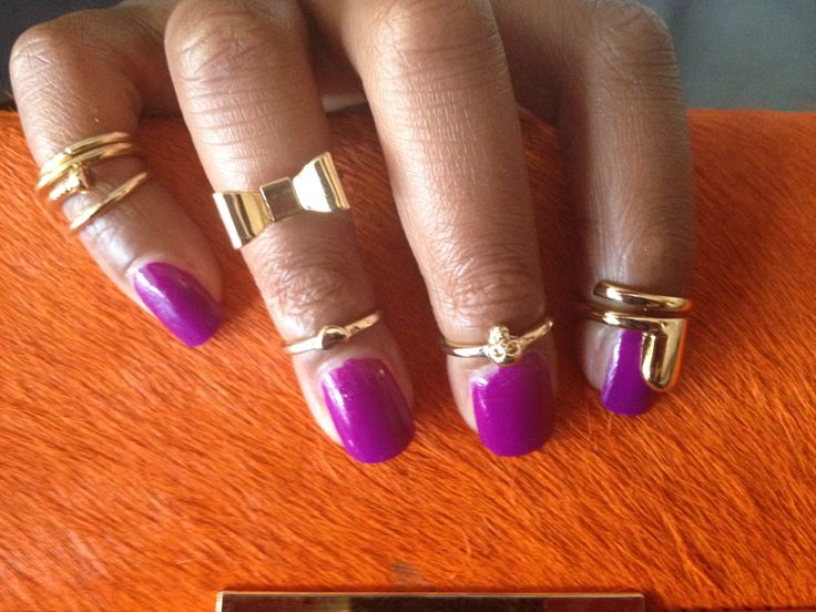 Midi rings with Nailring - too cute  Get yours from www.nailcandi.co.za
