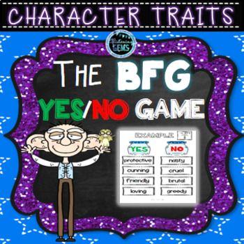 The BFG Character Traits Bundle