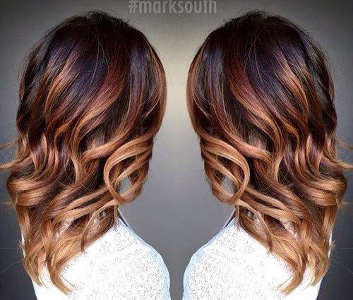 Honey brown fade #hair #sleekpeek #monat