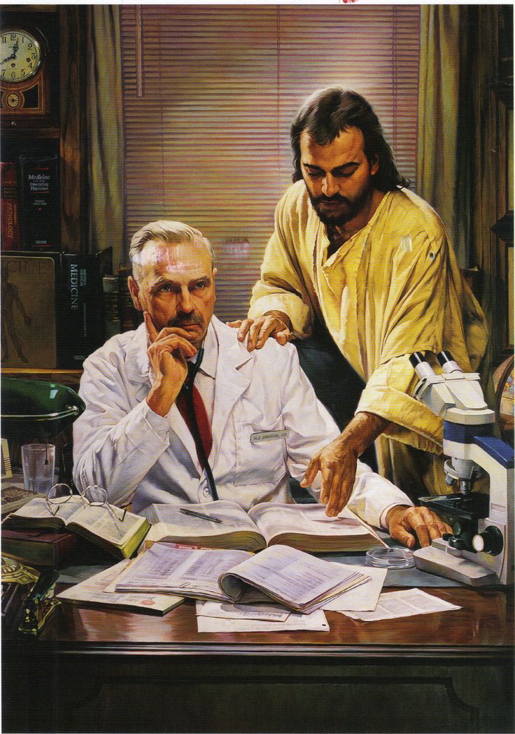 Image result for jesus doctor painting