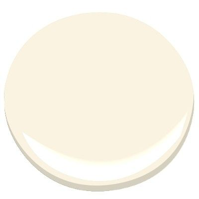 Benjamin Moore Sugar Cookie, creamy off white, pale, slightly yellow, warm, soft and smooth