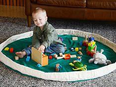 shop play pouch lego storage lego  bag toy storage mat kids gift tidy