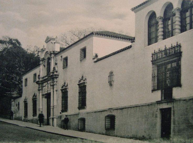 Residencia de los Sres. Carlos y Martín Noel, en Retiro. Actual Museo de arte Hispanoamericano Isaac Fernández Blanco.