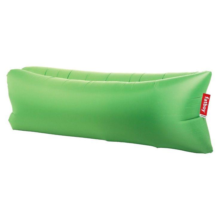 Lamzac the Original Inflatable Beach Lounge Chair - Grass Green