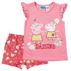 Peppa Pig Pyjama Set – Target Australia