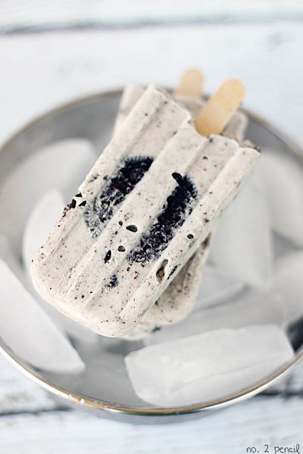 Yum | Oreo pudding pops