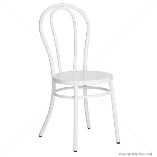 Brentwood Chair, White Milan Direct