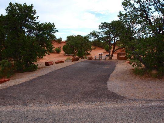 Site 015 Loop Devils Garden Campground At Devils Garden 640 x 480