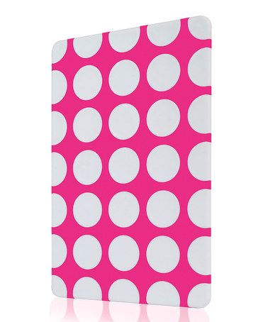 Take a look at this Fuchsia Circle Cutting Board by Art & Cook on #zulily today!
