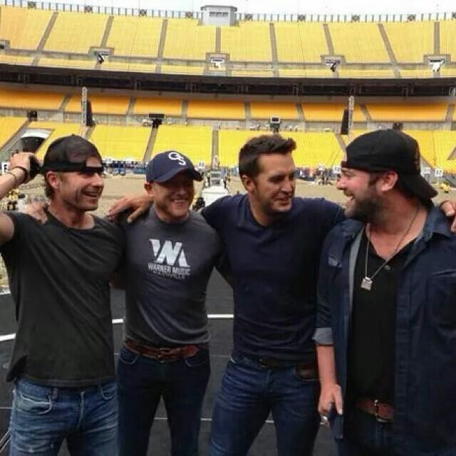 Dierks Bentley, Cole Swindell, Luke Bryan, Lee Brice Pittsburgh best concert ever!!!