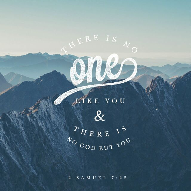 There is NONE like You.
