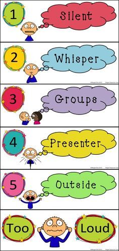 printable noise level charts in the classroom - Google Search