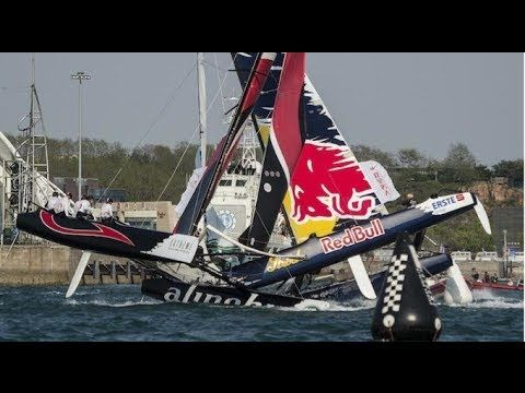 Extreme #Sailing Crash