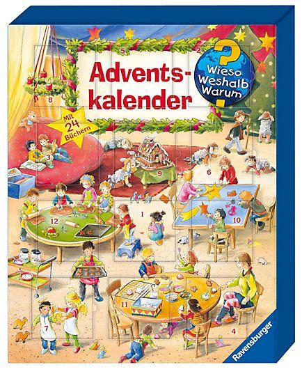 Wieso? Weshalb? Warum? Adventskalender Buch portofrei - Weltbild.ch