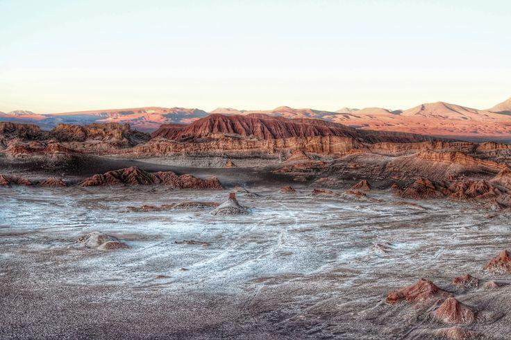 HDR Travel Pictures: El Valle de la Luna