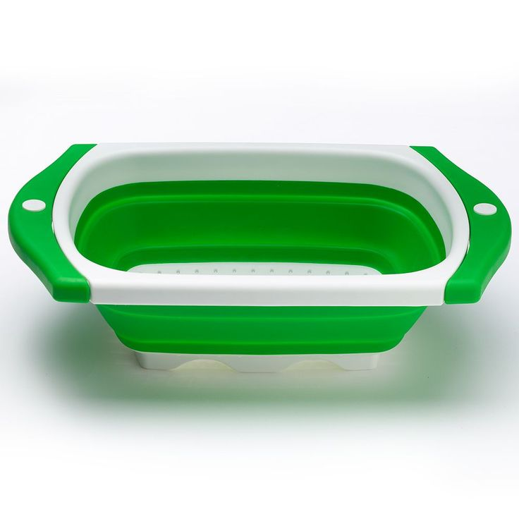 Food Network™ Collapsible Sink Strainer, Green