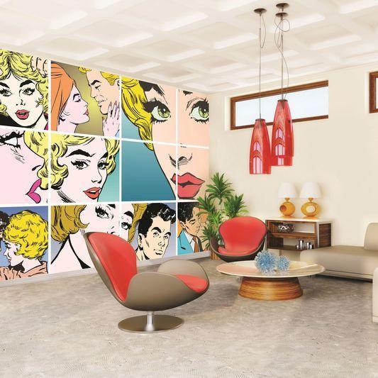 Best 25+ Pop art bedroom ideas on Pinterest | Red bedroom decor ...