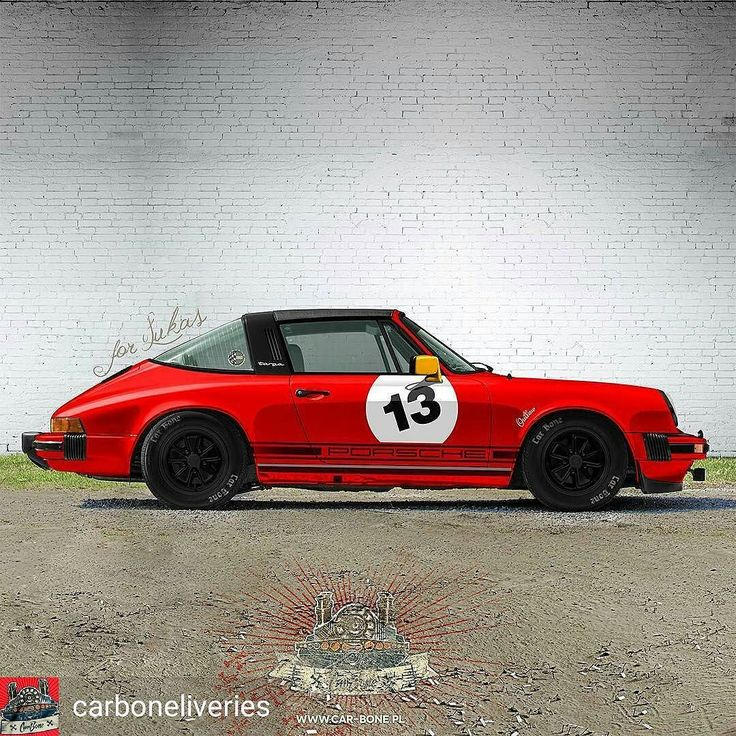 @Regrann from @carboneliveries - Outlaw racing Targa? Why not?! Take a look at Lukas' 911with our touch. The car is located in NJ USA. We will deliver meatballs Porsche script stripes outlaw stickers tire stencils. Lukas just needs to paint mirrors Fuchs tires and install decals. :) #carboneliveries #flatsixdesign #porsche #porsche911 #aircooled #restoration #carrera #911sc #911 #porschedesign #porscheclub #porschelife #porscheclassic #porschelove #porschefans #porscheporn #carporn…