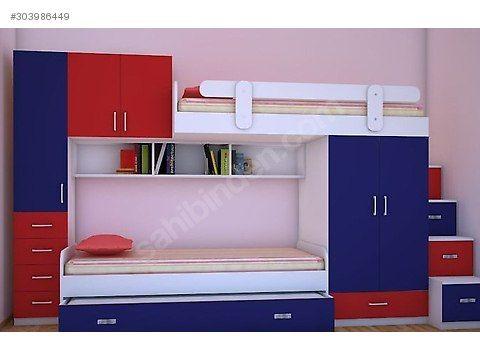 Alışveriş / Ev Dekorasyon / Mobilya / Çocuk & Genç Odası / Ranza