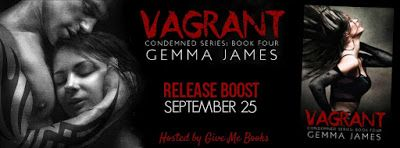 Spreading The Word With Denise&Donna: Vagrant by Gemma James Release Boost 9/25/15