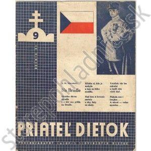 Priateľ dietok, ročník XI, číslo 9. P. Libor J. Mattoška
