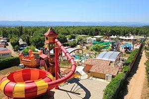 Camping Le Grand Lierne in Frankrijk met spectaculaire waterglijbanen!