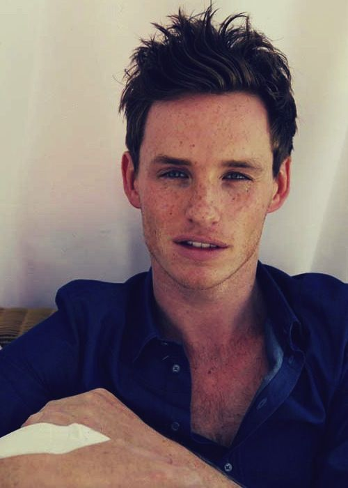 Eddie Redmayne, I don't know why I find him so damn attractive. Just *shivers*