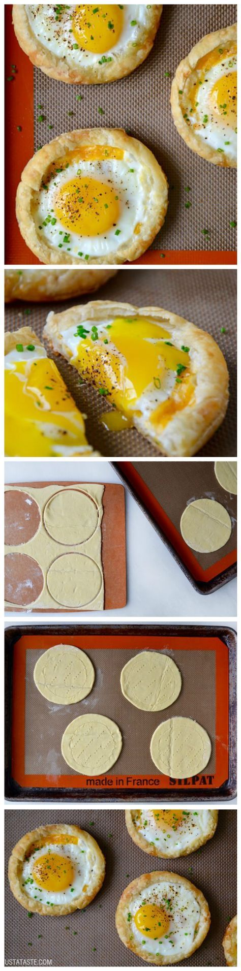 How To Make Tasty Cheesy Puff Pastry Baked Eggs